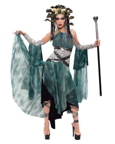Womens Halloween Costume Ideas Paper Magic Women's Medusa Costume ...