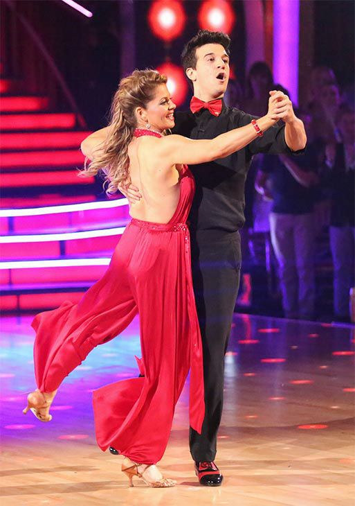 Finale Night 2 Candace Mark Performed A Quickstep Samba Fusion Dance Dancing With The Stars Dance Types Of Ballroom Dances