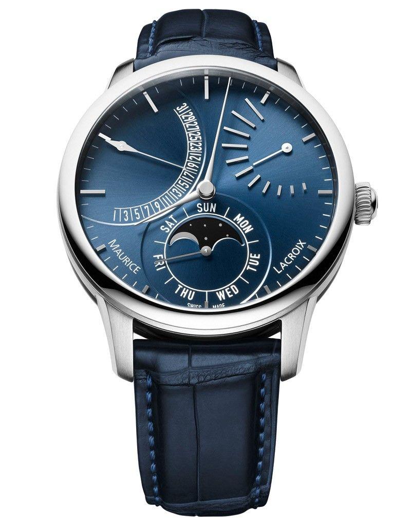 Masterpiece Lune Retrograde Automatic Timepiece Saatler