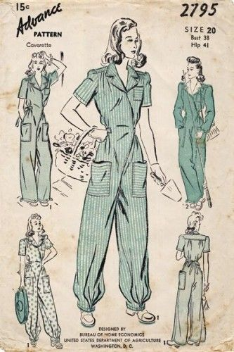 Women S 1940s Pants Styles History And Buying Guide: Womens 1940s Pants Styles History And Buying Guide