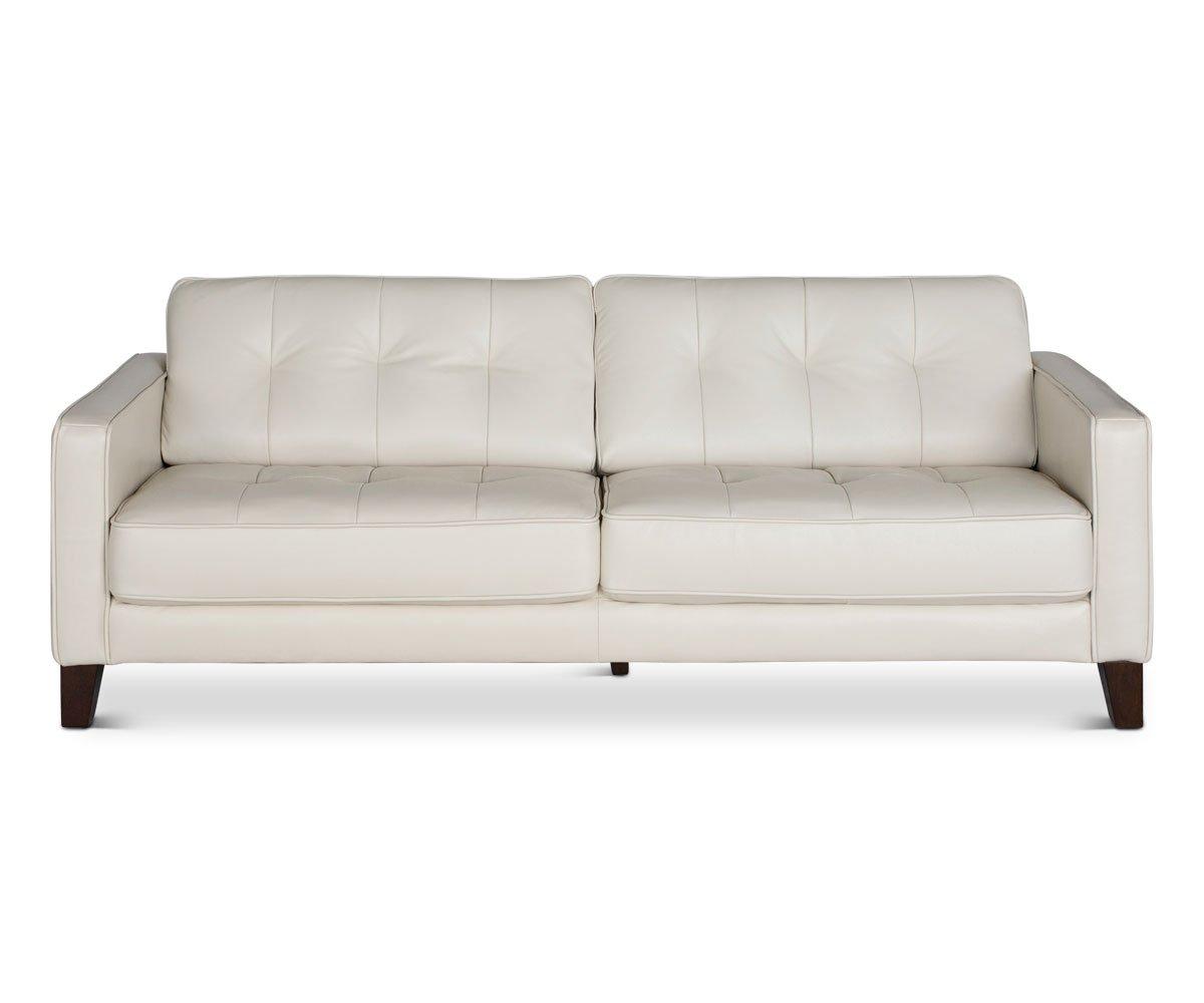 Gregata Leather Sofa Black Living Room Design Diy White Leather Sofas Furniture