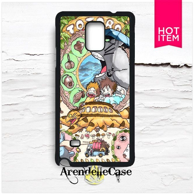 Anime My Neighbor Totoro Samsung Galaxy Note 4 Case