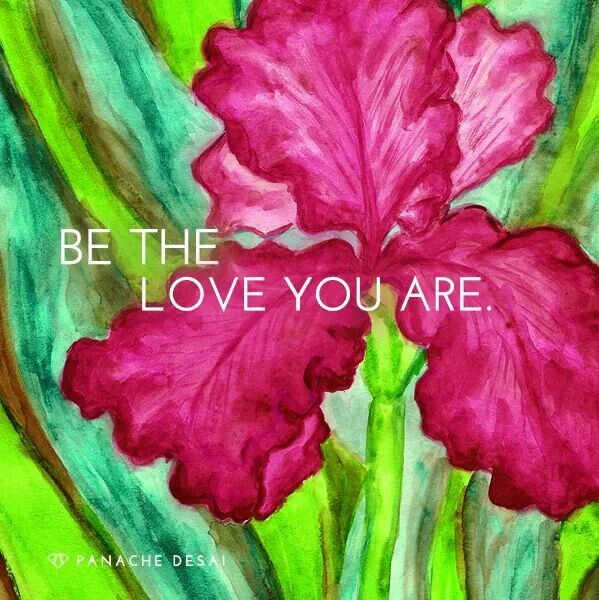 Live the love that you are in each moment of your life, from this day forward.