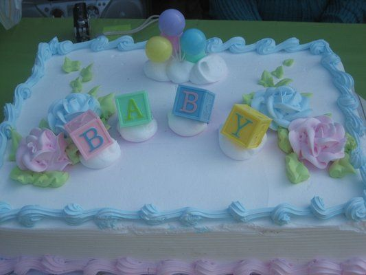 Cake De Baby Shower Fiestaideas Com