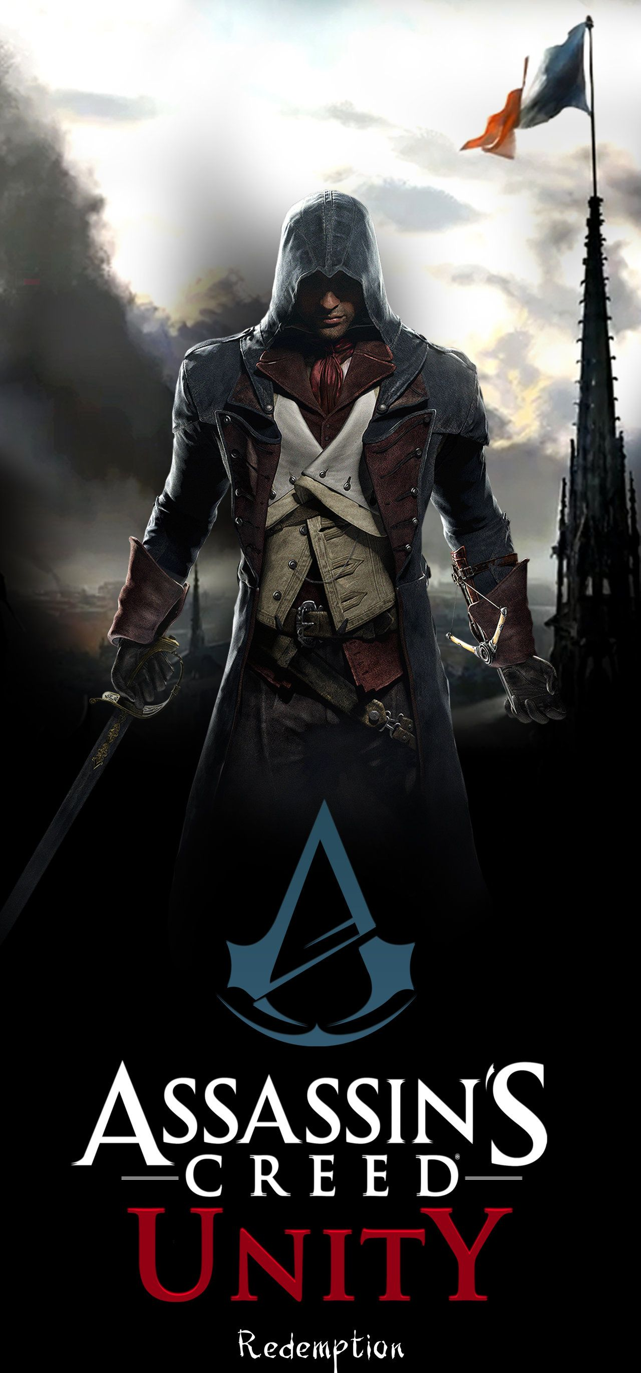 Assassin S Creed Poster Large Arno By Ven93 Deviantart Com On Deviantart Assassins Creed Assassins Creed Unity Arno Assassin S Creed