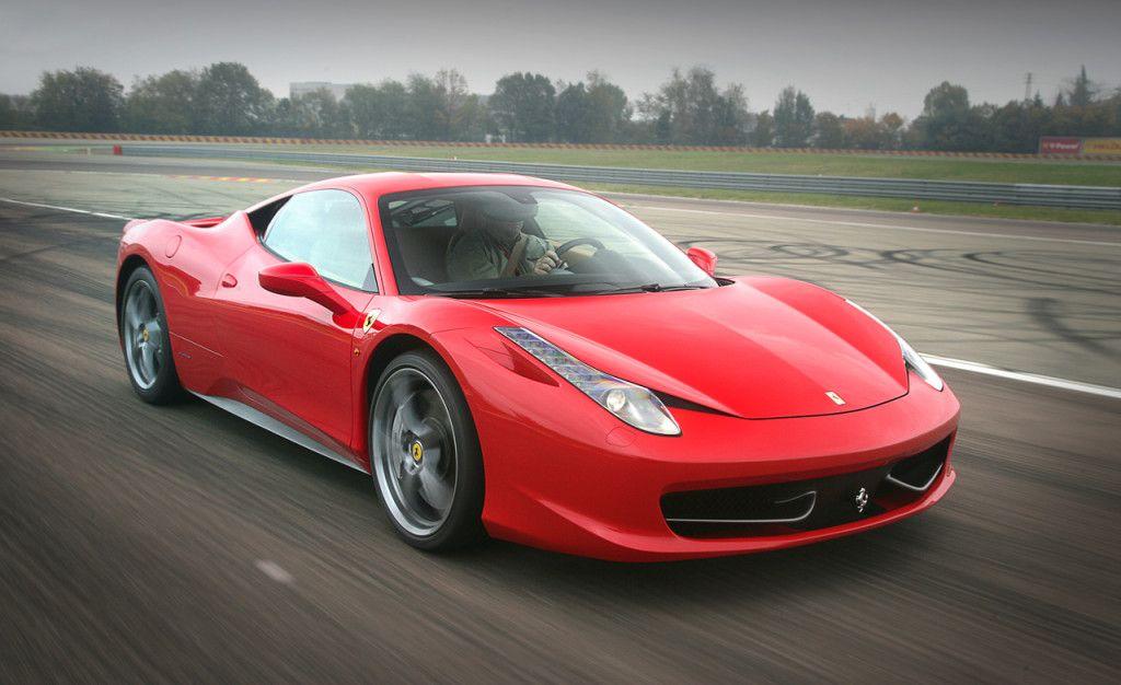 ferrari italia 458 red - Ferrari Italia 458