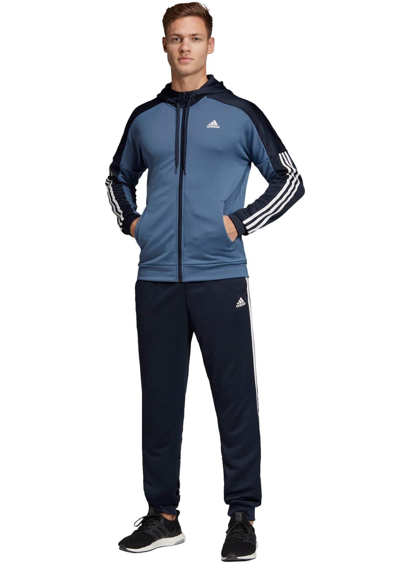 adidas performance trainingsanzug damen rot