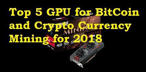 Best cryptocurrency algo to mine with gpu
