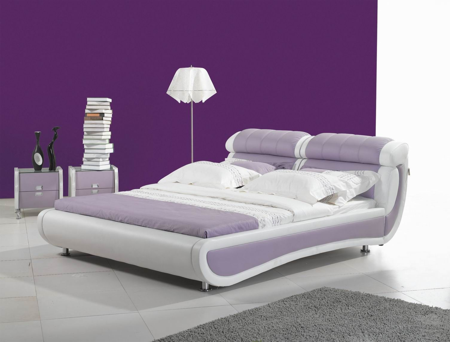 Purple Bedroom Furniture Leather Furniture Bedroom Furniture China Models Looks Like A
