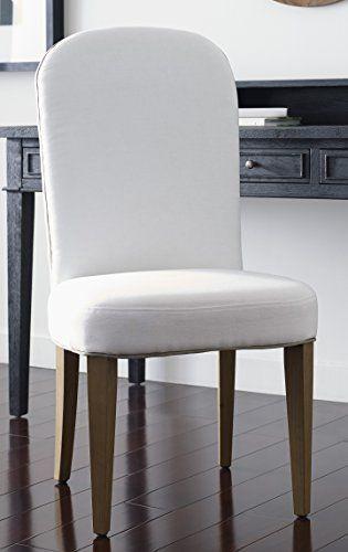 Tommy Hilfiger Alysa Dining Chair in Stone Wash White Linen ... on ralph lauren furniture, michael kors furniture, pierre cardin furniture, dior furniture,