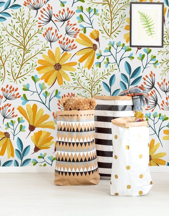 Removable Wallpaper Peel And Stick Wallpaper Self Adhesive Etsy In 2021 Peal And Stick Wallpaper Removable Wallpaper Peel And Stick Wallpaper