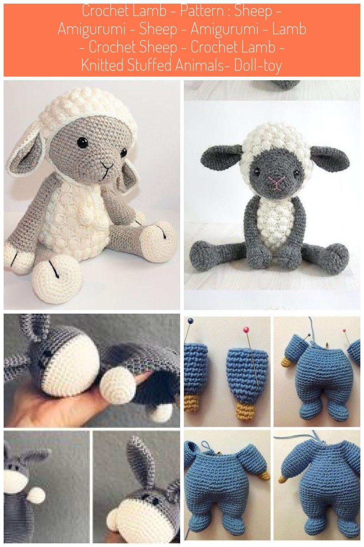 PATTERN Sheep / Lamb Amigurumi Sheep Amigurumi Lamb