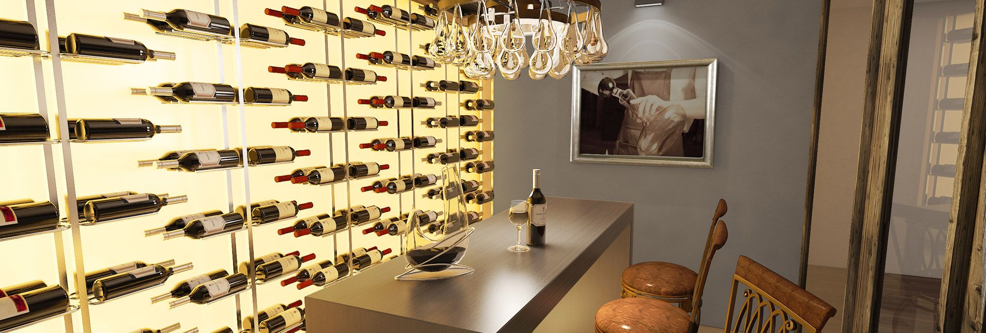 More wine display ideas for butlers pantry aa residence cellar maison bespoke wine cellars wine walls and wine pods tailored to suit your style and wine collection arubaitofo Choice Image