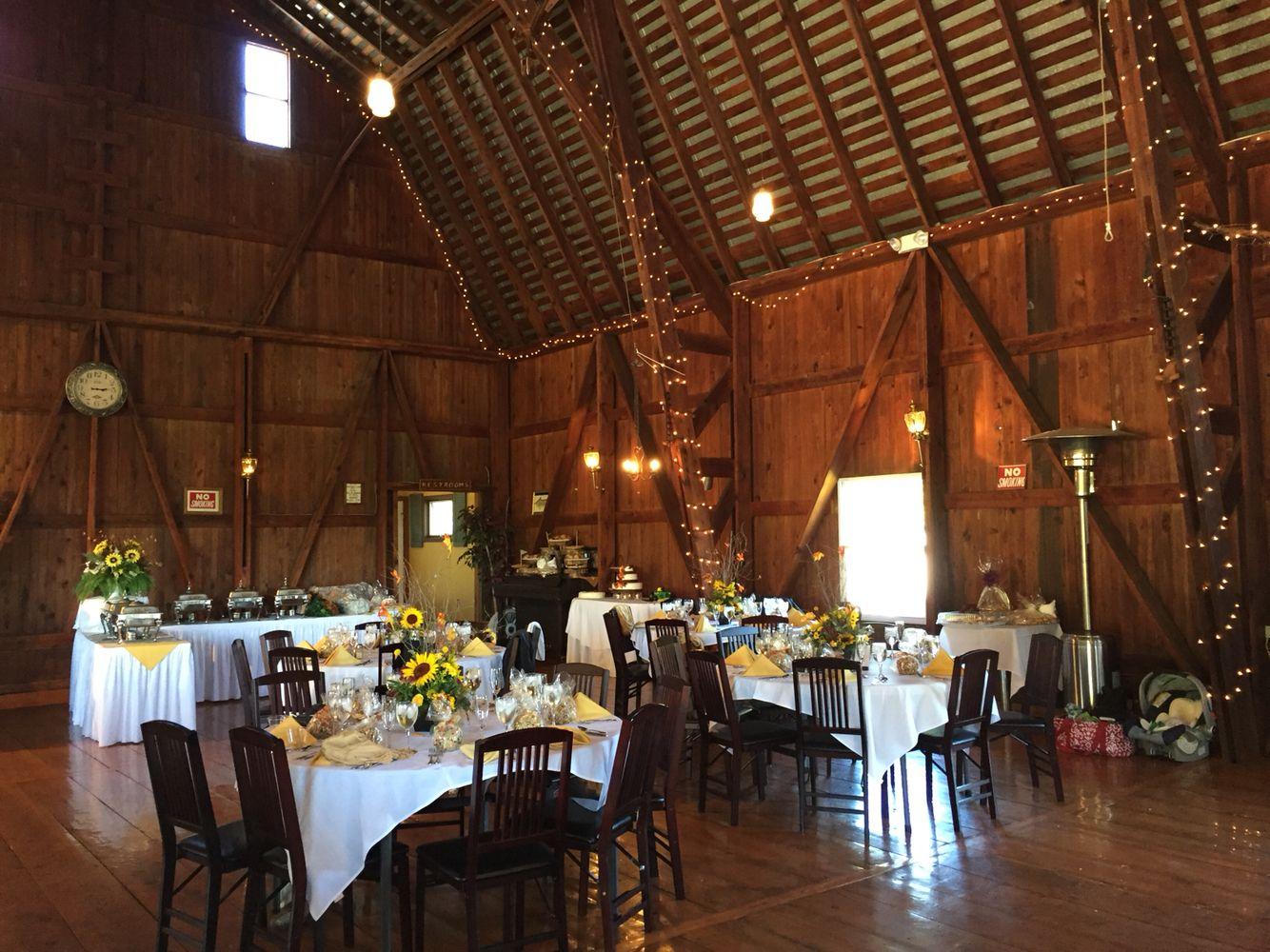 Barn Weddings. The Barn at Hillsprings Farm is the perfect