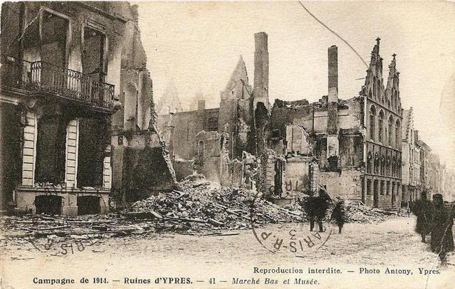 Forum Eerste Wereldoorlog :: Bekijk onderwerp - 14-18 Toen & Nu Ieper