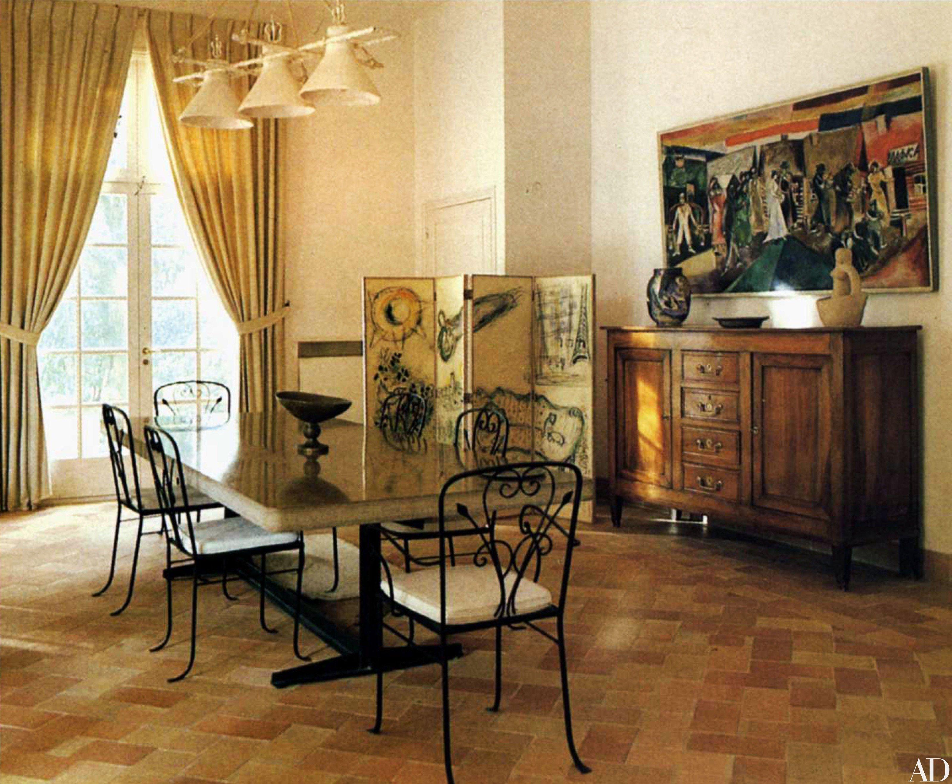 Peek Inside Marc Chagall S Dreamy Provencal Home Interior