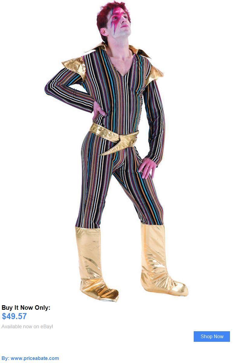 Men Costumes: Mens Ziggy Stardust Fancy Dress Costume David Bowie 1970S BUY  IT NOW ONLY: $49.57 #priceabateMenCostumes OR #priceabate