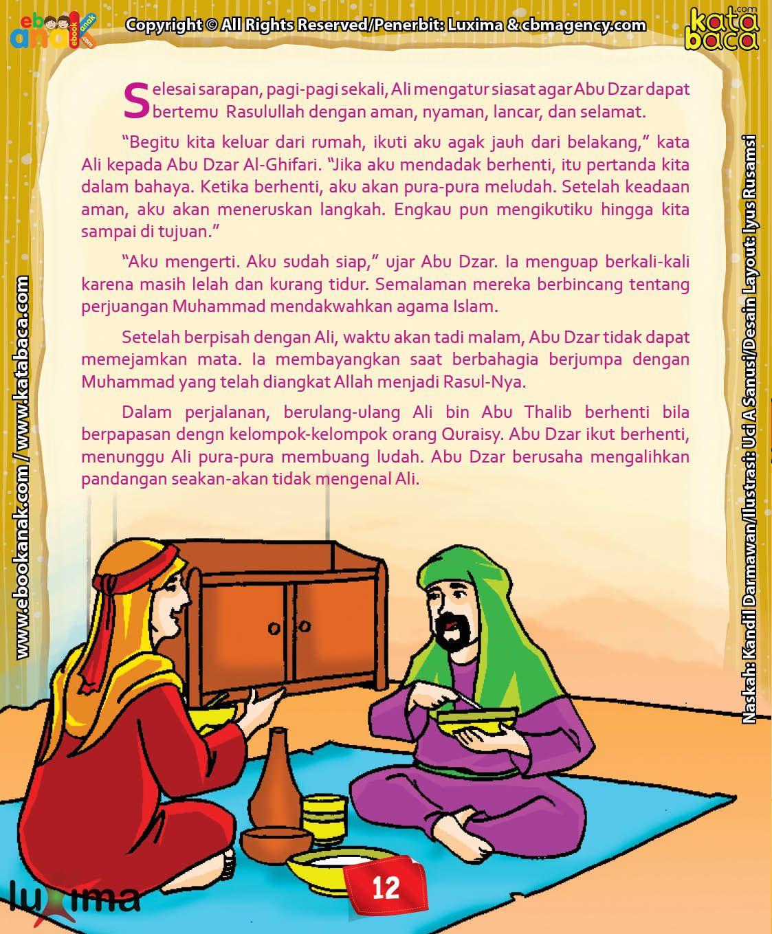 Download Ebook Abu Dzar Al Ghifari Bagaimana Cara Abu Dzar Bertemu Rasulullah Pengikut Pendidikan Membaca