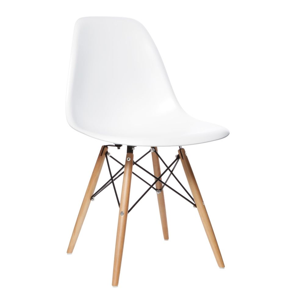 Perfect The Matt Blatt Replica Eames DSW Side Chair   Matte ABS Plastic By Charles  And Ray