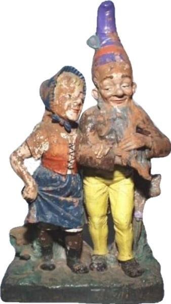 absolutely rare gnome couple Bexbach / Saarbrucken 90 cm | garden ...