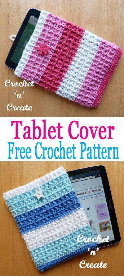 Tablet Cover   Stricken häkeln, Häkeln und Kostenlos