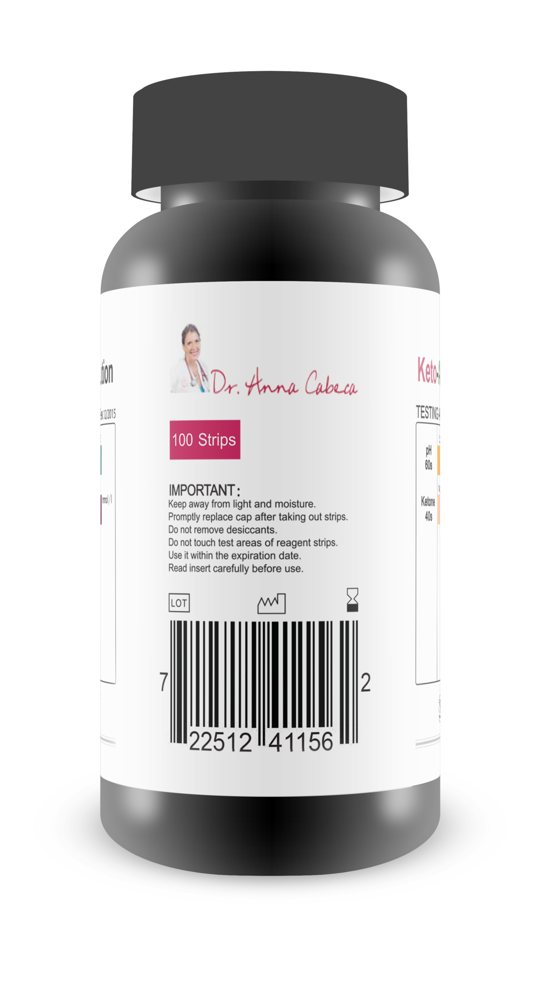 Keto-pH™ Urine Test Strips | Products | Keto, Diet, Ketogenic Diet