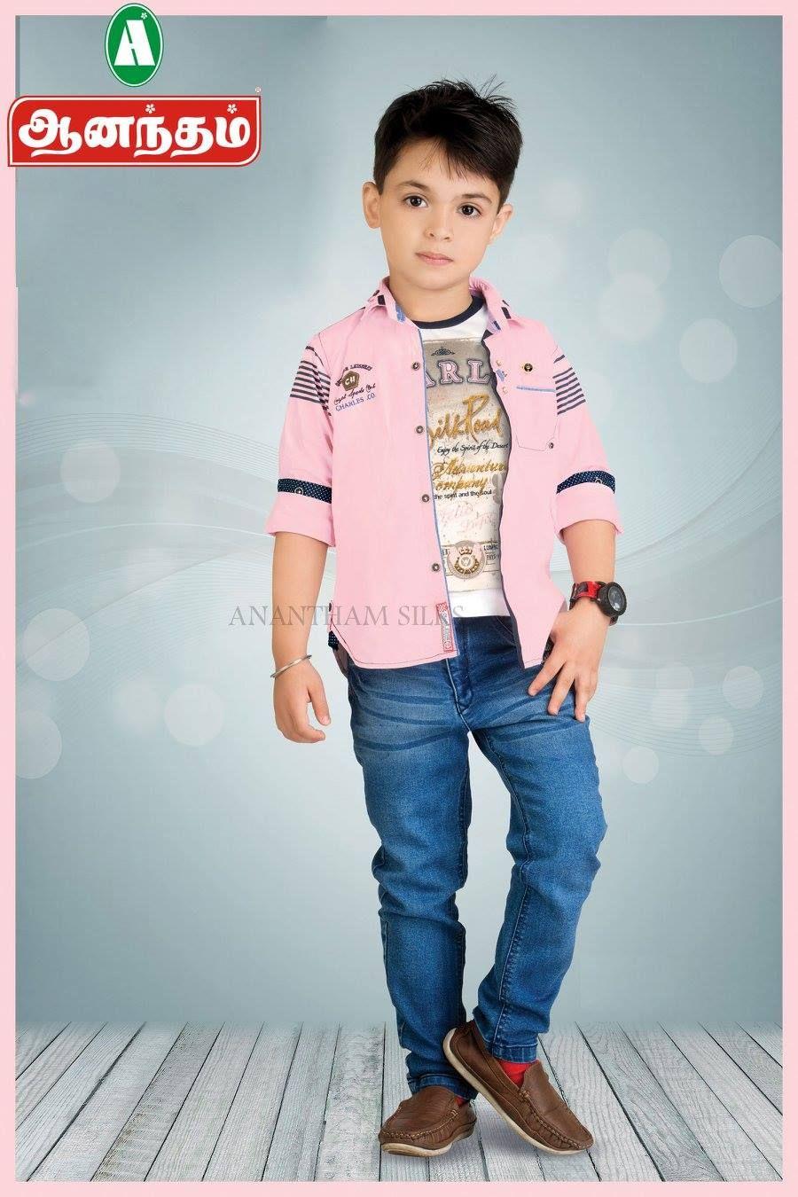 Cute Dresses For Boys Only @ Anantham Silks  Kids wear boys, Kids