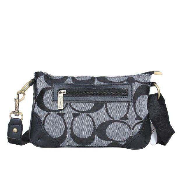 coach swingpack monogram small grey crossbody bags dpn coach rh pinterest com
