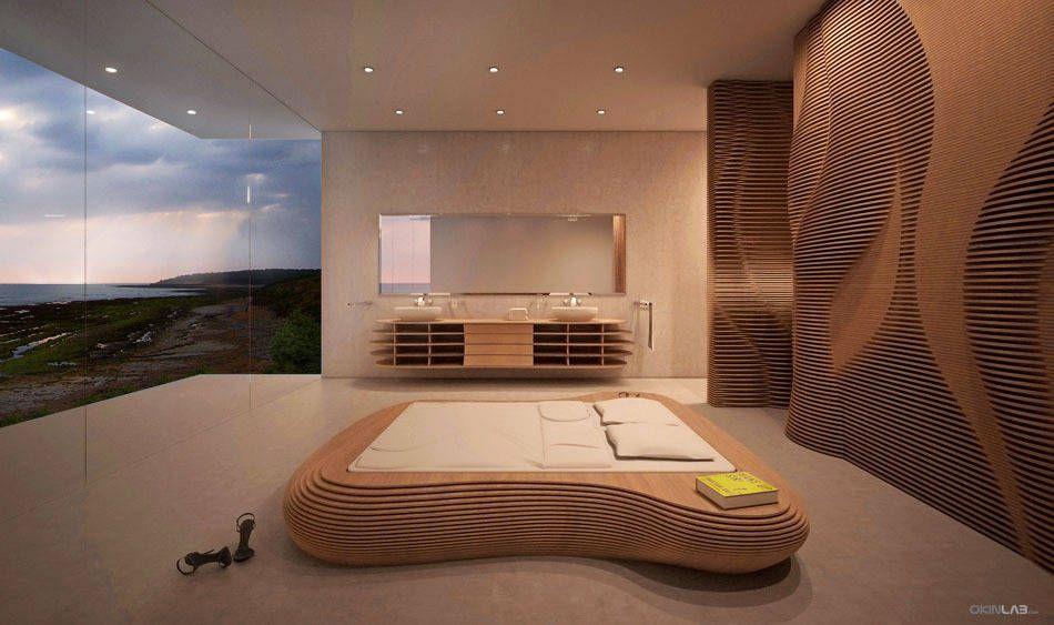 moderne schlafzimmer bilder: schlafzimmer villa q | moderne