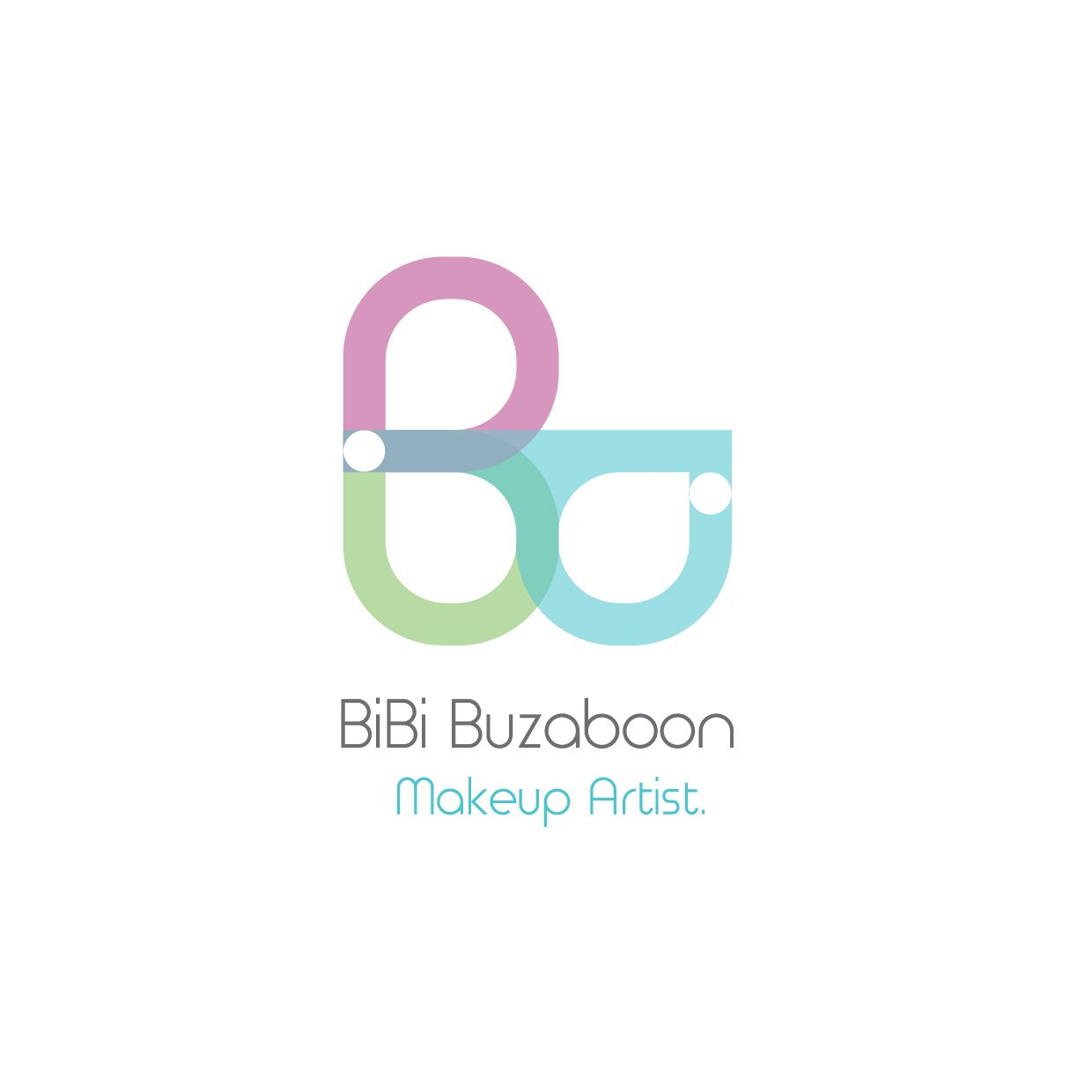 Logo Designed By Me For A Makeup Artist In Bahrain