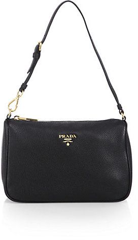 d3f8d1b834dd2e Prada Vitello Grain Mini Hobo Bag | Style: Bags