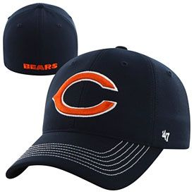 Get this Chicago Bears Game Time Closer Flex Fit Cap at ChicagoTeamStore.com