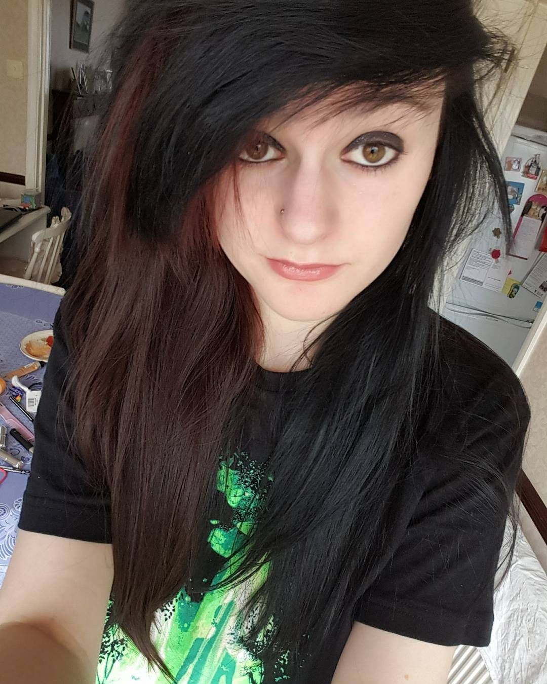 I miss my emo hair but i also want to be ginger cry