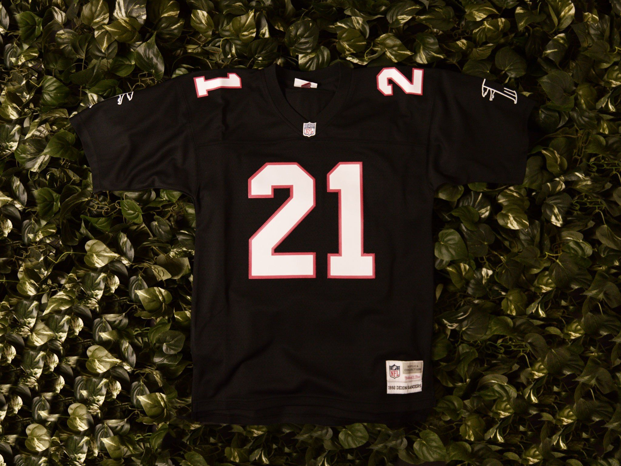 newest collection 706fc 03ab8 Mitchell & Ness 'Deion Sanders' NFL Jersey [7354-215-92DAN2 ...
