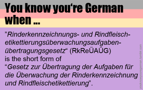 The awesomeness of German compound nouns leaves you . . . well . . . almost literally speechless. #geniusmomtricks