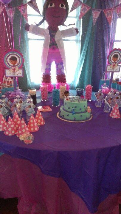 doc mcstuffins birthday party ideas | Doc McStuffins birthday. | Party Ideas