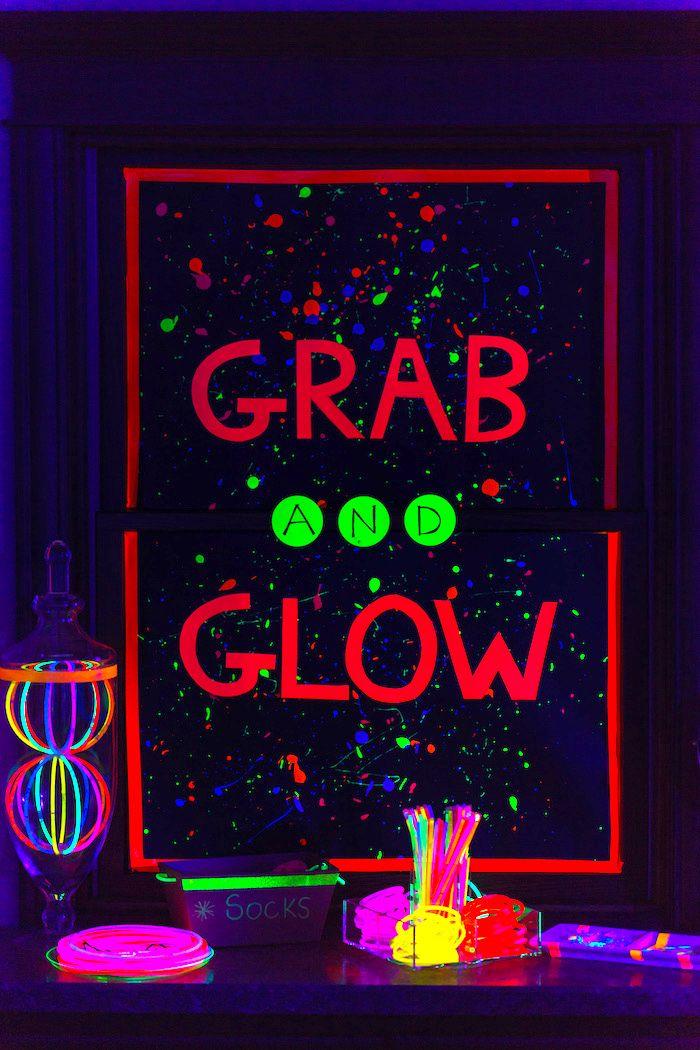 Glow Dance Birthday Party
