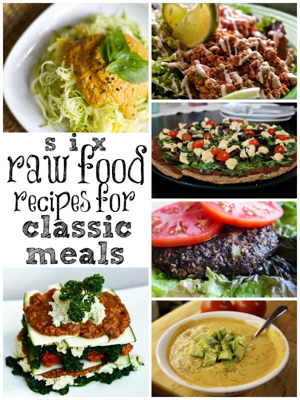 Im guessing these are paleo bc they are all raw need to make if youre trying to eat raw start here six raw food recipes for meals based on classic family favorites forumfinder Image collections