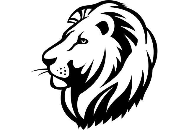 Lion Head Clipart Outline – You can edit any of drawings via our online image editor before downloading.