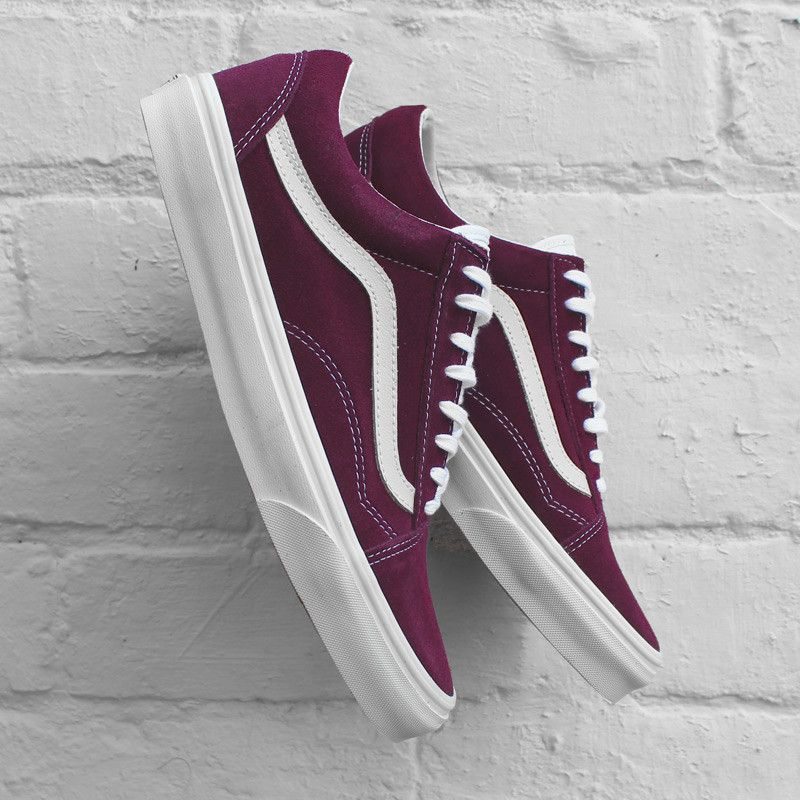 Fashion · Vans Old Skool Vintage - Grape Wine