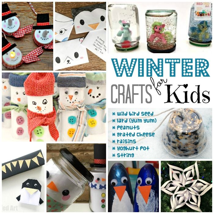 Kids Winter Craft Ideas Part - 16: Easy Winter Crafts For Kids