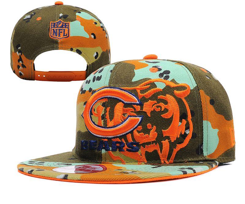 NFL CHICAGO BEARS CAMO NEW ERA 9FIFTY SNAPBACK Hats 00654353076