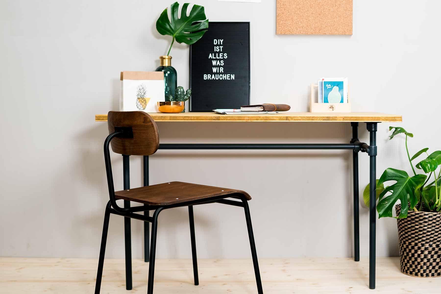 Tisch Rohrbert Selber Bauen Rohrmobel Create By Obi Haus Deko Mobelstuck Tisch