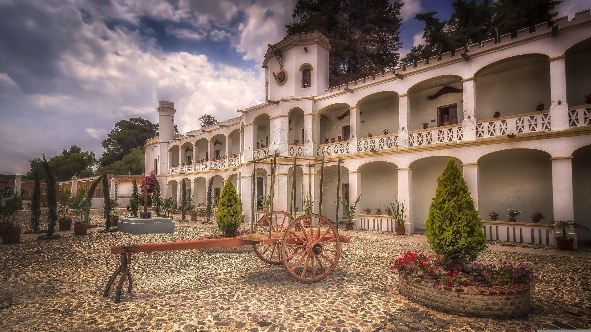 vista del hotel misión grand ex hacienda de chautla