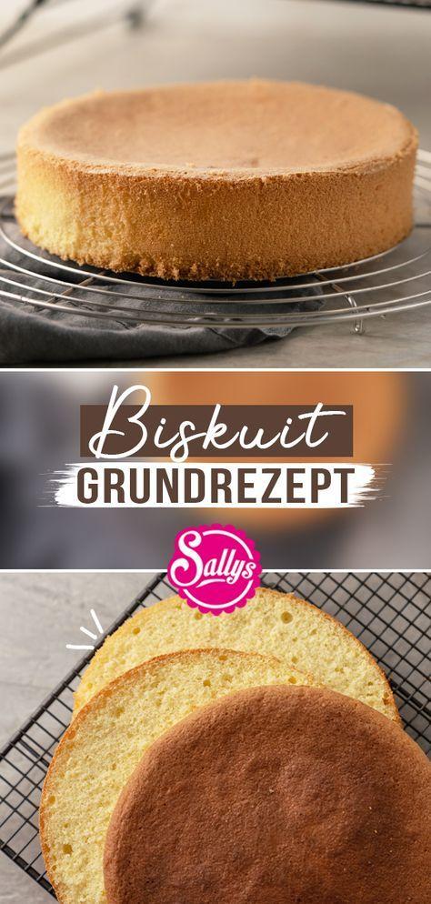 Biskuit Rezept / Gelingsicher mit Tipps und Tricks