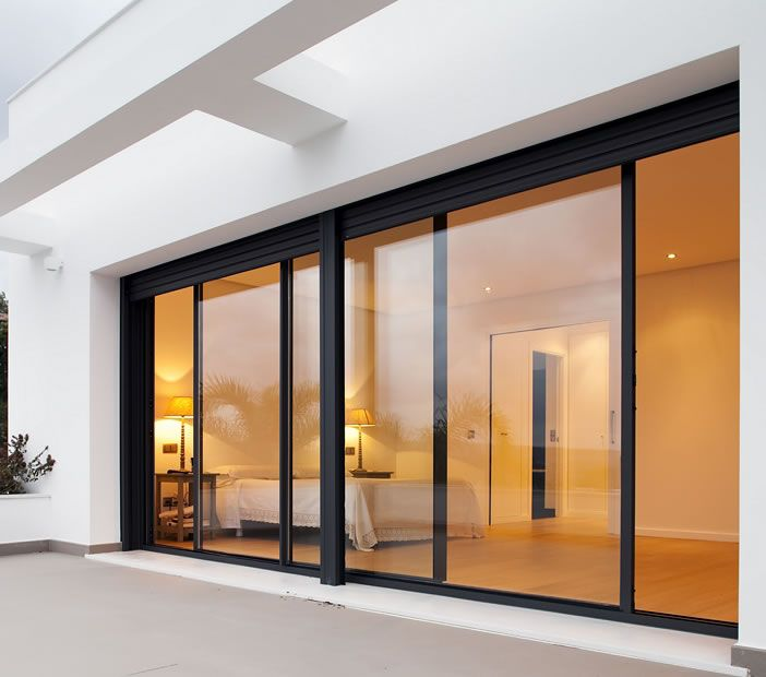 Exterior Glass Sliding Doors - Saudireiki