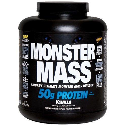 MONSTER MASS de CytoSport es subidor de peso estupendo. Sin descuidar un increíble sabor MONSTER MASS aporta 600 calorías de una avanzada proteína y sistema de carbohidratos que lo convierten en una herramienta nutricional para crear una monstruosa masa muscular.