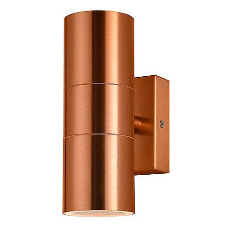 The Kenn Garden Wall Light Will Brighten Up Any Outdoor Space It Features A Tubular Design With A St Wall Lights Copper Outdoor Lighting Outdoor Wall Lighting
