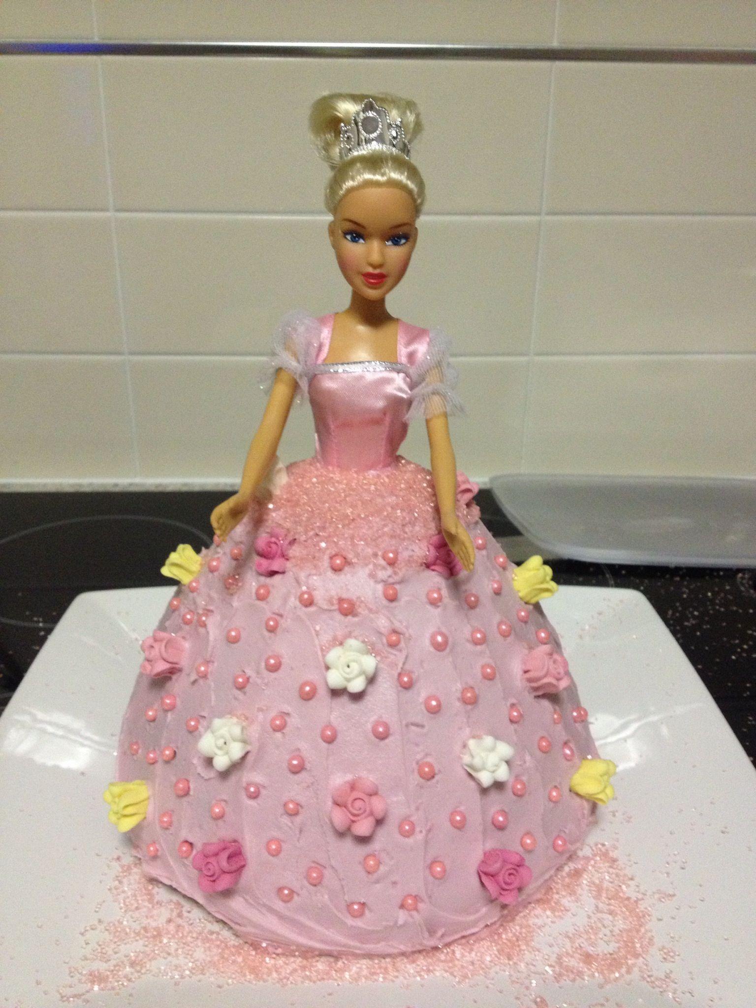 Dolly Varden Tin Butter Cake Betty Crocker Pink Icing