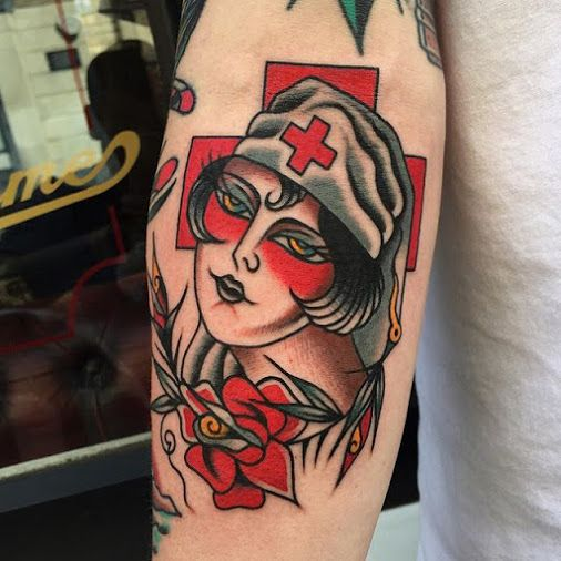 Tattoo by Luke Jinks. For more of Luke's work please visit http://ow.ly/SkwNt